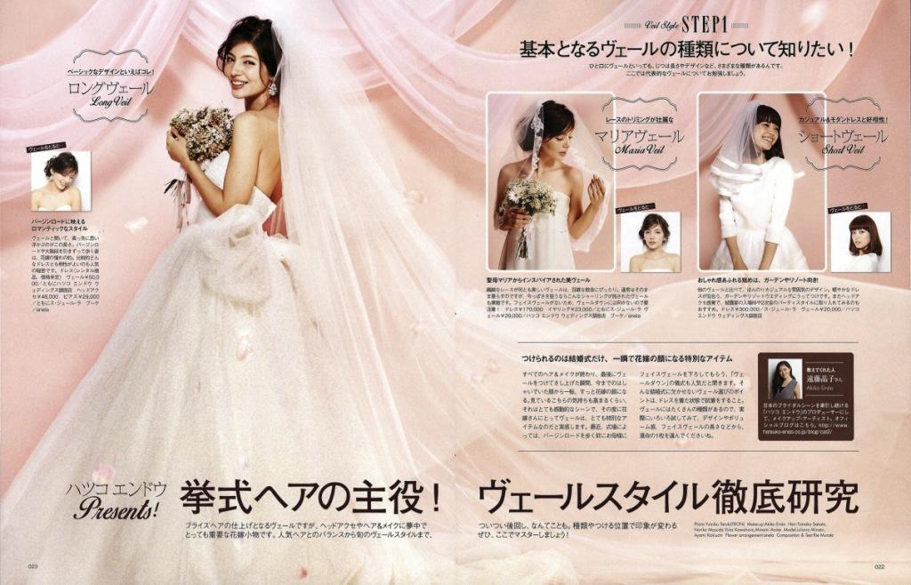 MISS Wedding ブライズビューティ vol.14 P,22-23
